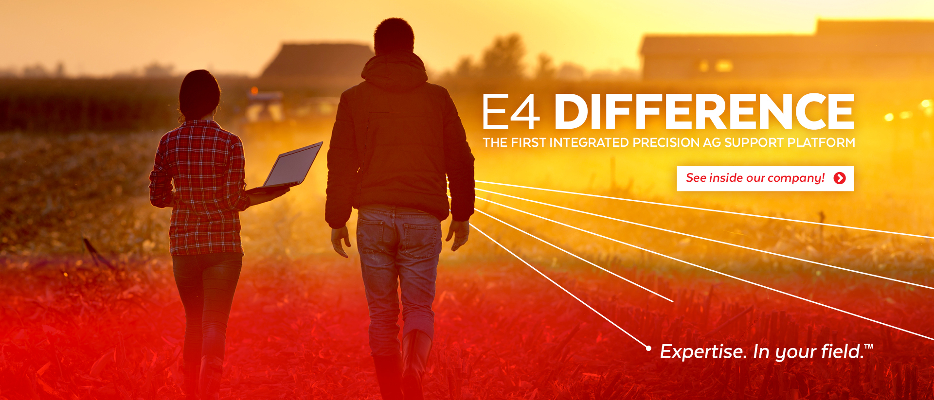 E4 Difference | The First Intergrated Precision AG Support Platform