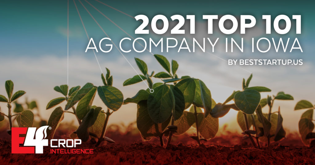 E4 was named as top 101 ag company in Iowa